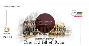 Humanity Evolving: Rise and fall of Rome event